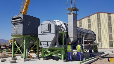 Photo of Stibnite ore dryer project finalised