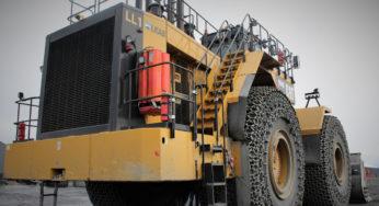 55-m (180-ft) boom lift chosen for heavy port equipment