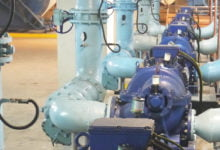Photo of GreaseMax® lubricators maintain bearings in idle plant