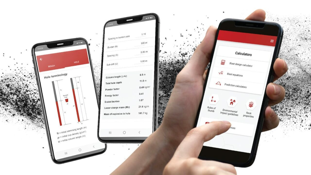 Bme S New Blasting Guide App Makes The Job Easier For Blasters African Mining Market