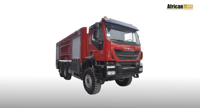 Heavy Duty 6×6 Fire Truck