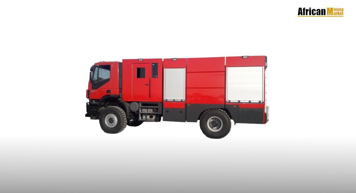 Medium Duty 4×4 Fire Truck