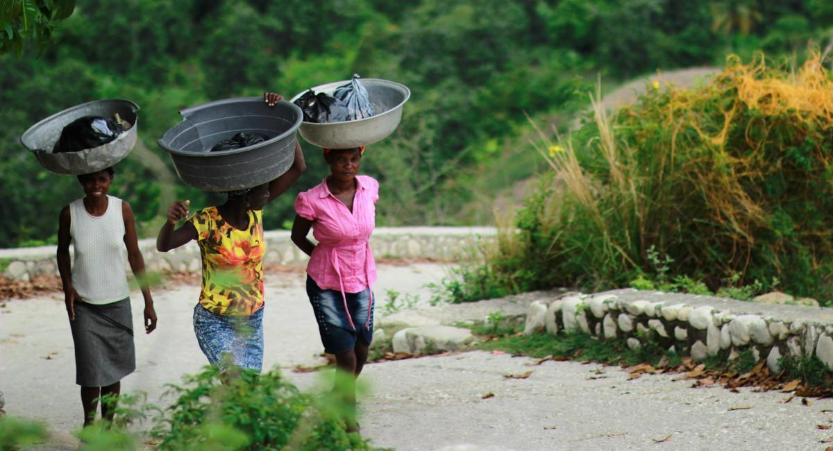Women affected by mining